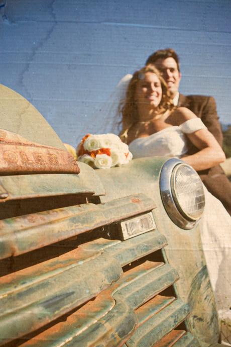 Bride and Groom at Figueroa Mountain Farmhouse wedding in Santa Barbara
