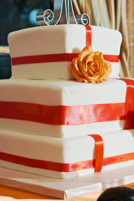 Wedding Cake at Hotel Mar Monte Wedding Reception