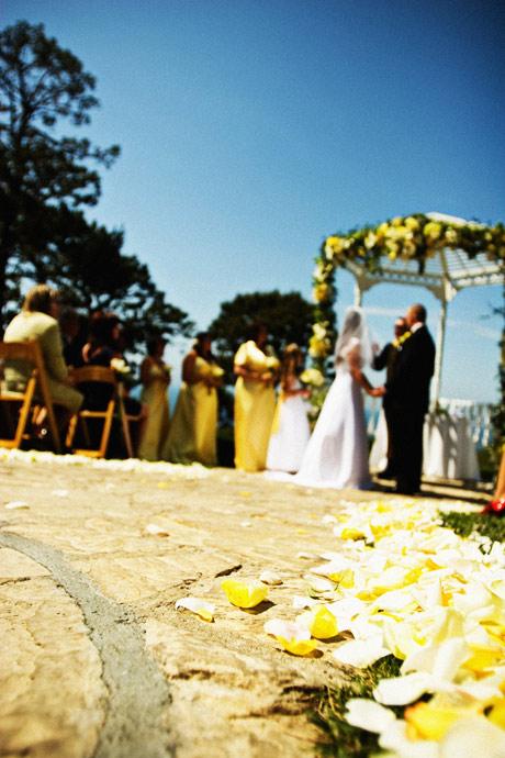 Wedding Ceremony at La Venta Inn