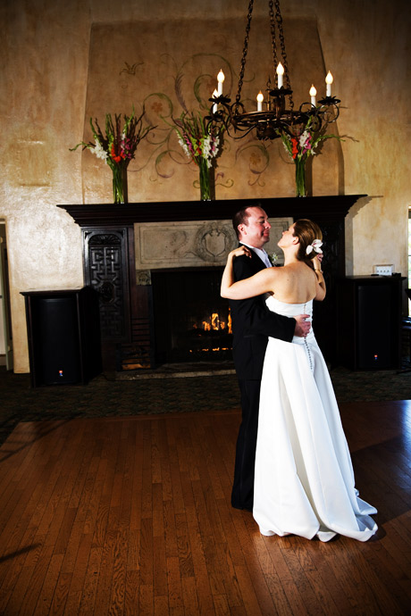 First Dance at La Venta Inn Wedding Reception