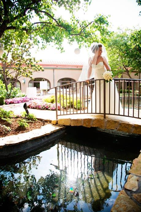 Bride at Langham Hotel Wedding in Pasadena, California