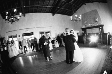 Parent Dance at La Venta Inn Wedding Reception