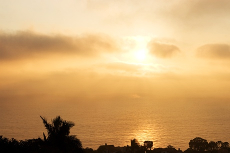 Sunset at La Venta Inn