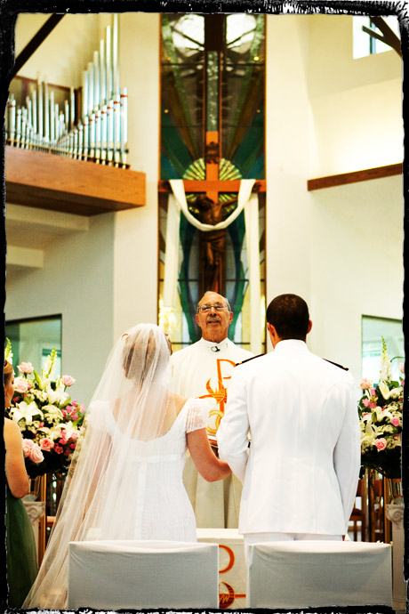 Catholic Wedding Ceremony in Fullerton, California