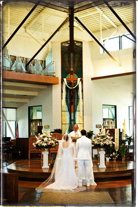 Catholic Wedding Ceremony in Orange County, California