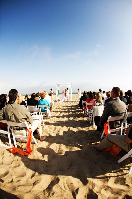 Beach Wedding in Santa Barbara, California