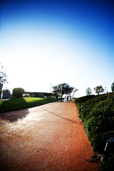 Fish Eye Shot caght by my assistan Jesse afte the Martin Johnson House Wedding.