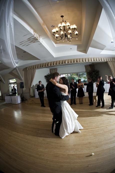 First Dance at Fort MacArthur Wedding Reception