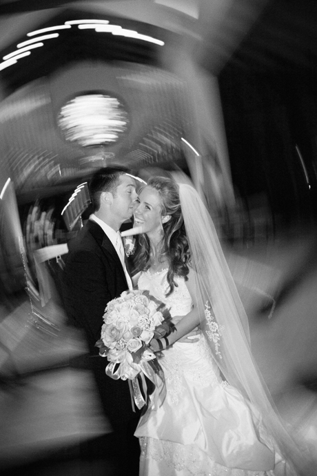 Bride and Groom at St. James Anglican Church in Newport Beach, California
