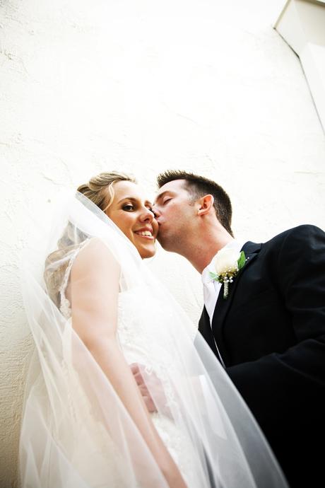 Bride and Groom in Newport Beach, California
