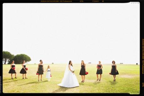 Bride and Bride's Maids in Redondo Beach, California