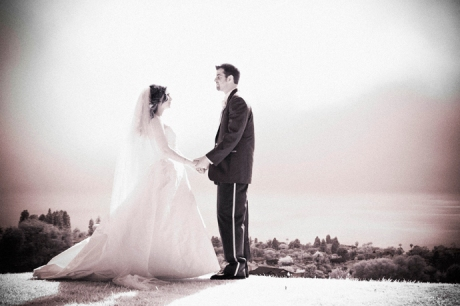 Infrared Wedding Photography in Redondo Beach, California