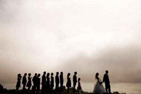 Bridal Party in Redondo Beach, California