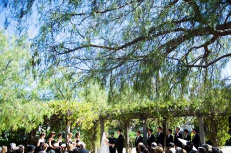 Santa Barbara Historical Museum Wedding Ceremony