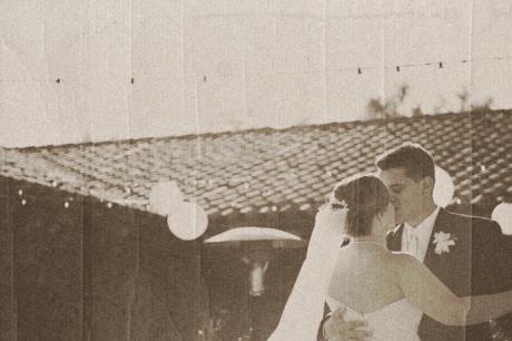 Santa Barbara Historical Museum Wedding First Dance