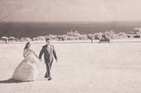 Infrared Wedding Photograhy at Trump National Golf Club