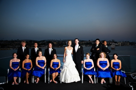 Bridal Party aboard Electra Cruises Yacht