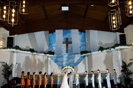 Wedding Ceremony in Orange County, California