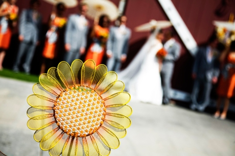 Bridal Party at Strawberry Farms in Irvine, Orange County, California