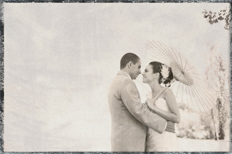 High Key black and white wedding photography at Strawberry Farms Wedding