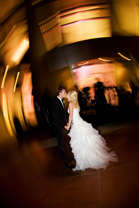 First Dance at their Crystal Cathedral Wedding