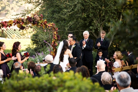 Firestone Vineyard Wedding Ceremony