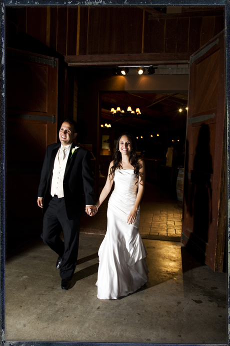 Grand Entrance at Firestone Vineyard Wedding