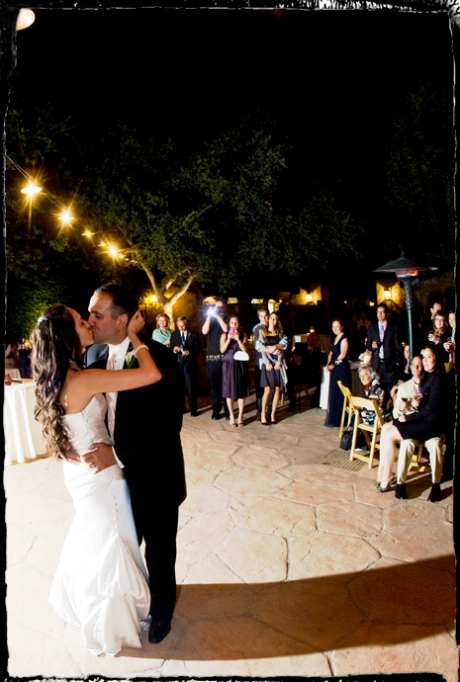 First Dance at Firestone Vineyard Wedding