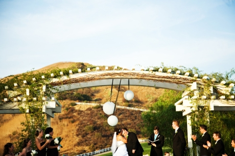 Wedding Ceremony at Black Gold Golf Course