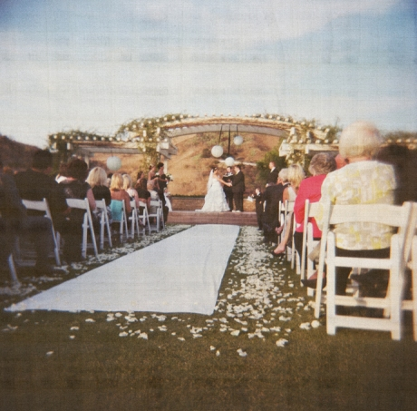 Wedding Ceremony at Black Gold Golf Club
