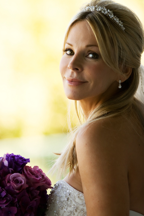 Bride at Laguna Cliffs Marriott