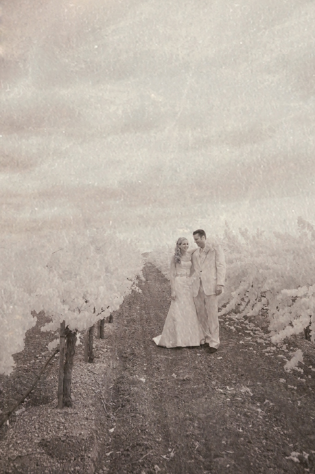 Infrared Wedding Photography at Gainey Vineyard