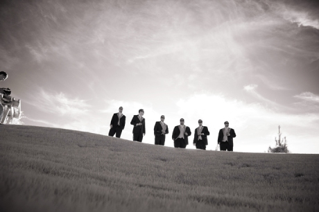 Infrared Wedding Photography at Black Gold Golf Club