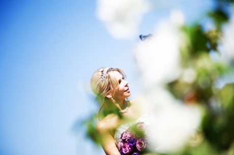 Bride at Laguna Cliffs Resort Wedding