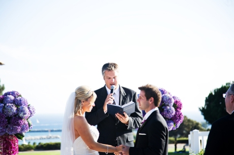Wedding Ceremony at Laguna Cliffs Marriott
