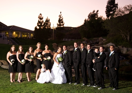 Bridal Party at Black Gold Golf Club