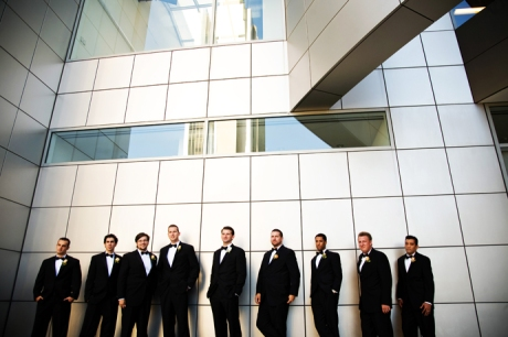 Groom's Men at the Crystal Cathedral