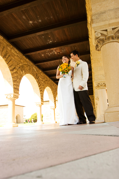 Stanford University Wedding Pictures