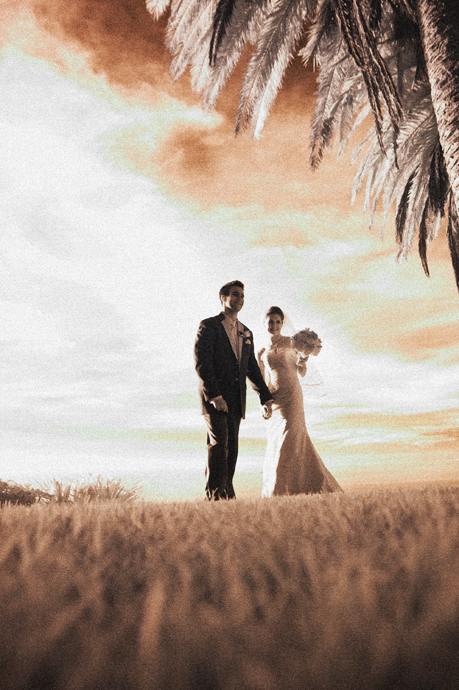 Color Infrared Wedding Photography