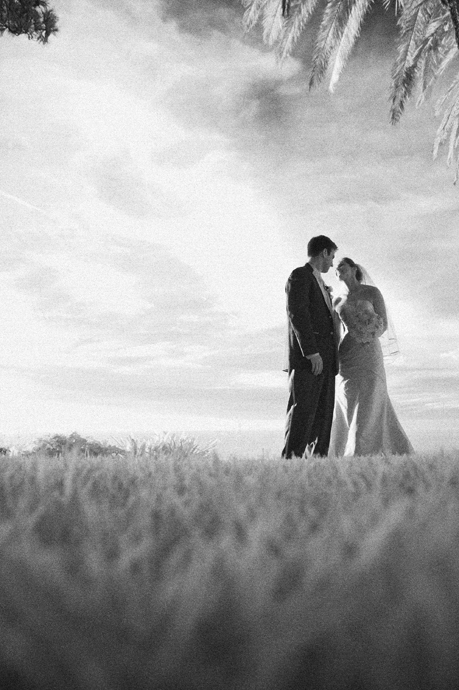 Infrared Wedding Photograph