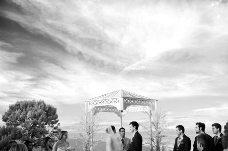 Infrared Wedding Image