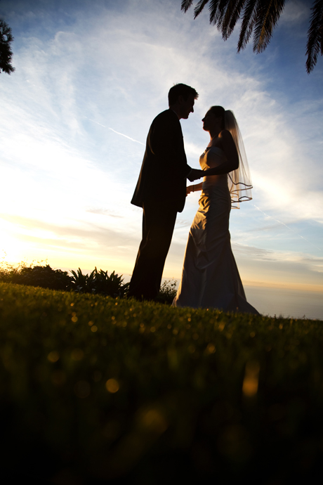 Sunset at La Venta Inn Wedding