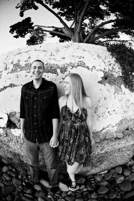 Butterfly Beach Engagement Photo