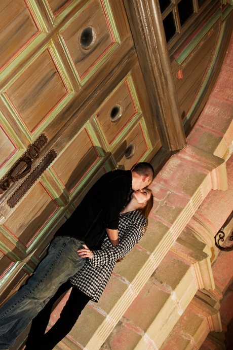 Engagement Photos at the Santa Barbara Mission