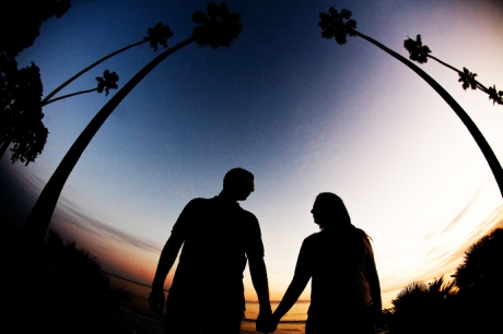 Butterfly Beach Engagement Pictures