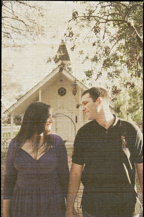 Engagement Pictures at Westmonte College