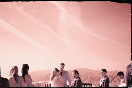 Infrared Wedding Photography at Puddingstone Resort