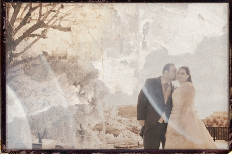 Infrared Wedding Photographer at Puddingstone Resort