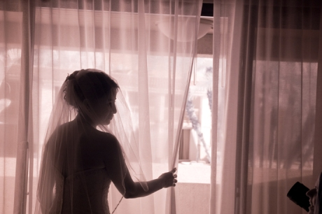 Infrared Wedding Photography at the San Diego Hilton