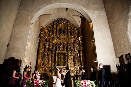 Mission Inn Wedding Ceremony